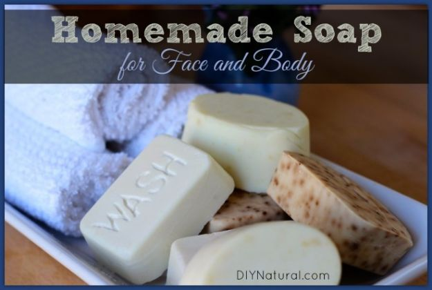 Cool Soaps To Make At Home - Homemade Soap For Face And Body - DIY Soap Recipes and Ideas - Best Soap Tutorials for Soap Making Without Lye - Easy Cold Process Melt and Pour Tips for Beginners - Crockpot, Essential Oils, Homemade Natural Soaps and Products - Creative Crafts and DIY for Teens, Kids and Adults #soapmaking #diygifts #soap #soaprecipes