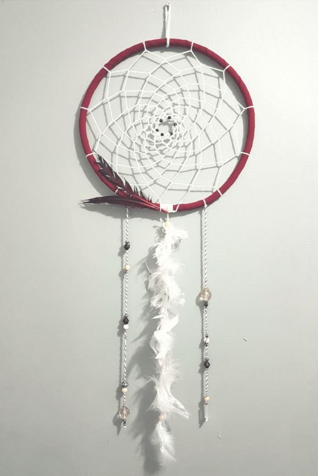 DIY Dream Catchers - Bohemian Dreamcatcher - How to Make a Dreamcatcher Step by Step Tutorial - Easy Ideas for Dream Catcher for Kids Room - Make a Mobile, Moon Designs, Pattern Ideas, Boho Dreamcatcher With Sticks, Cool Wall Hangings for Teen Rooms - Cheap Home Decor Ideas on A Budget #diyideas #teencrafts #dreamcatchers
