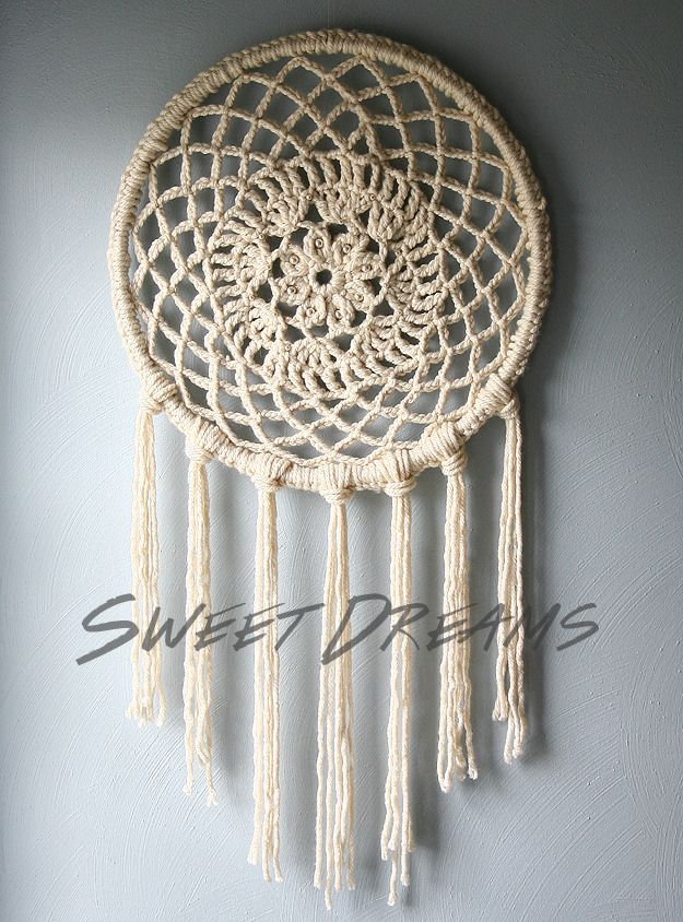 DIY Dream Catchers - DIY Big Dreams Dreamcatcher - How to Make a Dreamcatcher Step by Step Tutorial - Easy Ideas for Dream Catcher for Kids Room - Make a Mobile, Moon Designs, Pattern Ideas, Boho Dreamcatcher With Sticks, Cool Wall Hangings for Teen Rooms - Cheap Home Decor Ideas on A Budget #diyideas #teencrafts #dreamcatchers