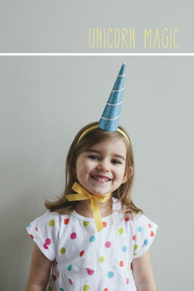 DIY Unicorn Party Ideas - Make A Unicorn Horn- Throw A Unicorn Themed Party With These Cheap and Easy but Super Creative Projects - Unicorns Decorations for Parties With Rainbow, Glitter and Fun Colors - Banners, Signs, Cakes and Tabletop Decor for the Best Birthday Party Ever - Girls, Teens and Kids Love These Fun Crafts #birthdayparty #partyideas #unicorn #kidparty