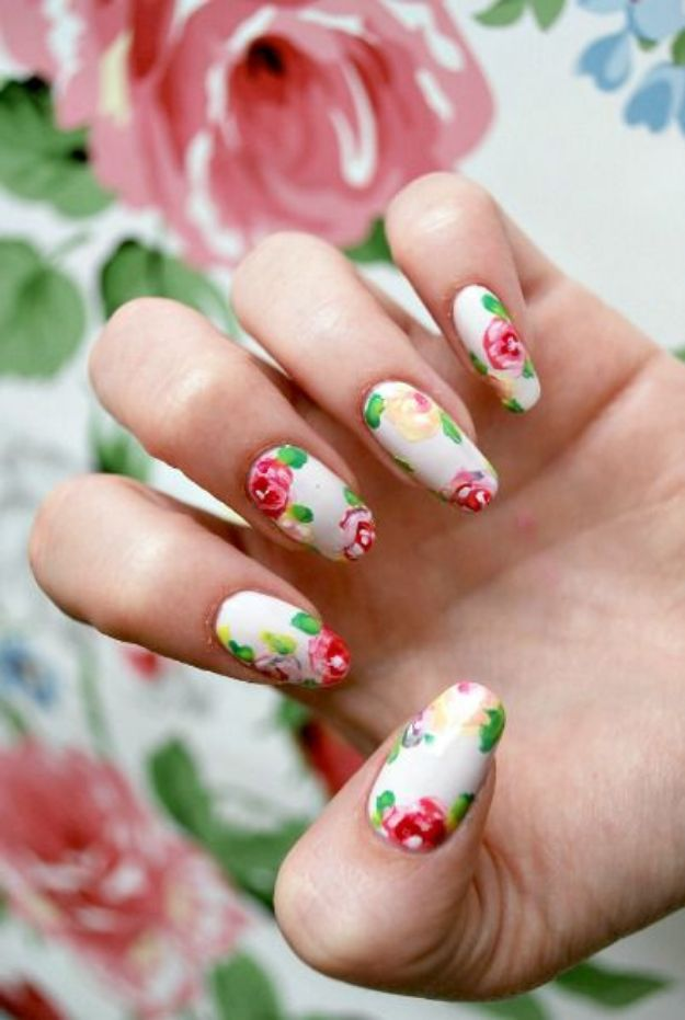 DIY Nail Art Ideas - Artsy Buds Nail Art - Easy Step by Step Design Idea for Nails - How to Make Manicures at Home Simple - Paint and Polish Tips #nailart #naildesigns #nailart #diynails #diybeauty #naildesigns #teencrafts