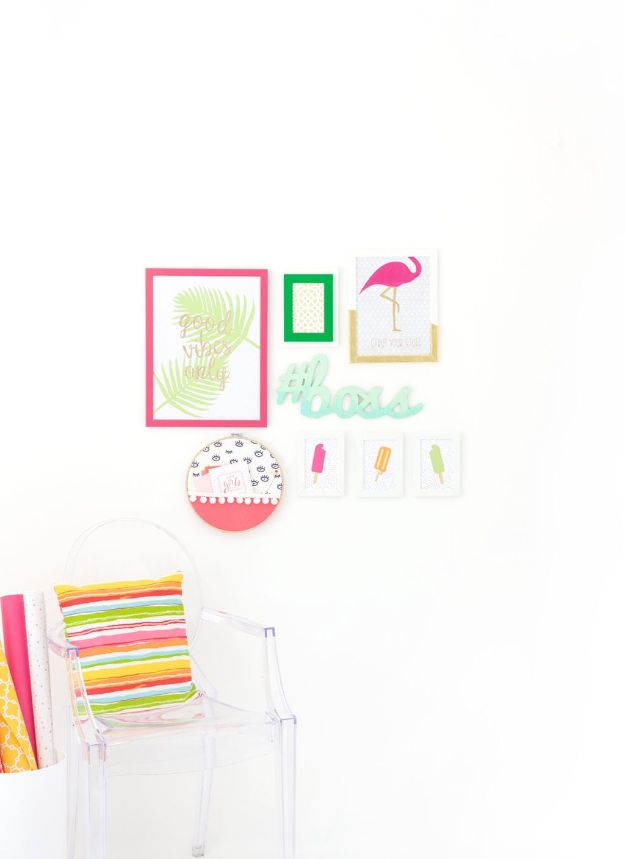 Cheap DIY Wall Decor Ideas - Explore Gallery Wall - Cute and Easy Room Decor for Teens - Ideas for Teenager Bedroom Walls - Boys and Girls Room Canvas Wall Art and Decorating #teen #roomdecor #diydecor