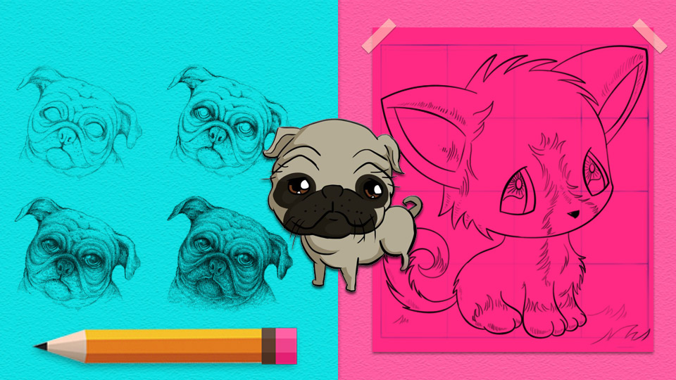 How To Draw Dogs Easy Step By Step Drawing Tutorial Learn How To