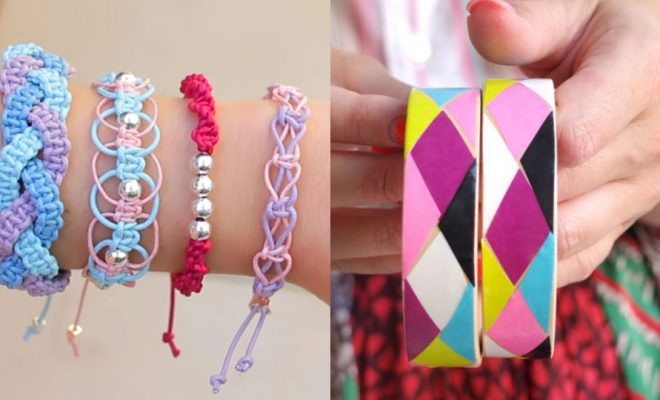DIY Friendship Bracelets - Woven, Beaded, Leather and String - Cheap Embroidery Thread Ideas - DIY gifts for Teens