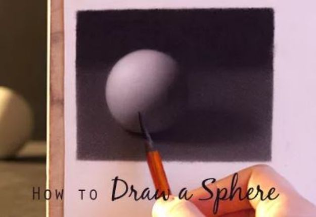 100 How To Draw Tutorials - Draw A Sphere - Eyes, Hair, Face, Lips, People, Animals, Hands - Step by Step Drawing Tutorial for Beginners - Free Easy Lessons