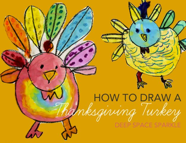 100 How To Draw Tutorials - Draw A Thanksgiving Turkey - Eyes, Hair, Face, Lips, People, Animals, Hands - Step by Step Drawing Tutorial for Beginners - Free Easy Lessons