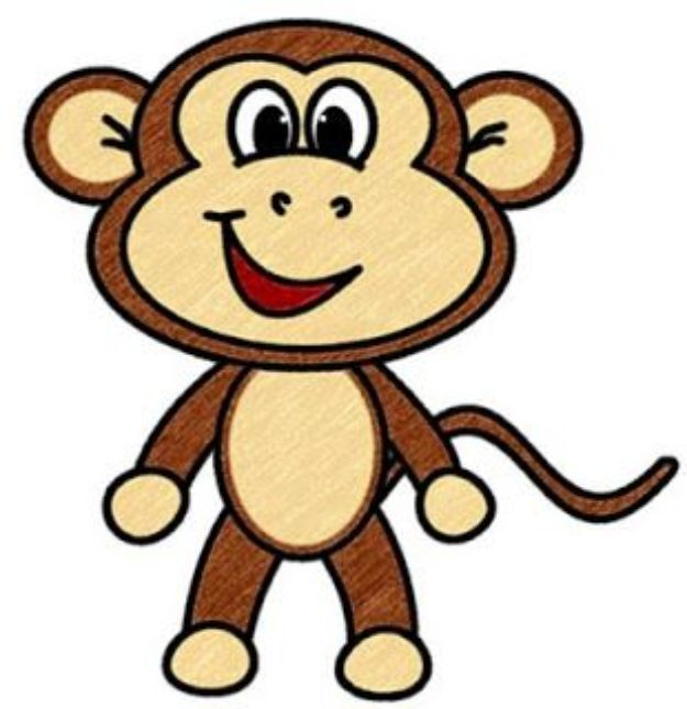 Draw Cartoon Monkey100 How To Draw Tutorials - Draw Cartoon Monkey - Eyes, Hair, Face, Lips, People, Animals, Hands - Step by Step Drawing Tutorial for Beginners - Free Easy Lessons