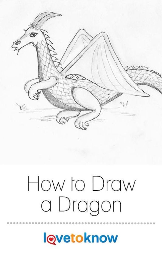 100 How To Draw Tutorials - Draw a Simple Dragon - Eyes, Hair, Face, Lips, People, Animals, Hands - Step by Step Drawing Tutorial for Beginners - Free Easy Lessons