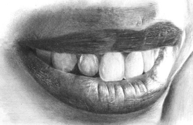 100 How To Draw Tutorials - Drawing Realistic Mouth and Teeth - Eyes, Hair, Face, Lips, People, Animals, Hands - Step by Step Drawing Tutorial for Beginners - Free Easy Lessons
