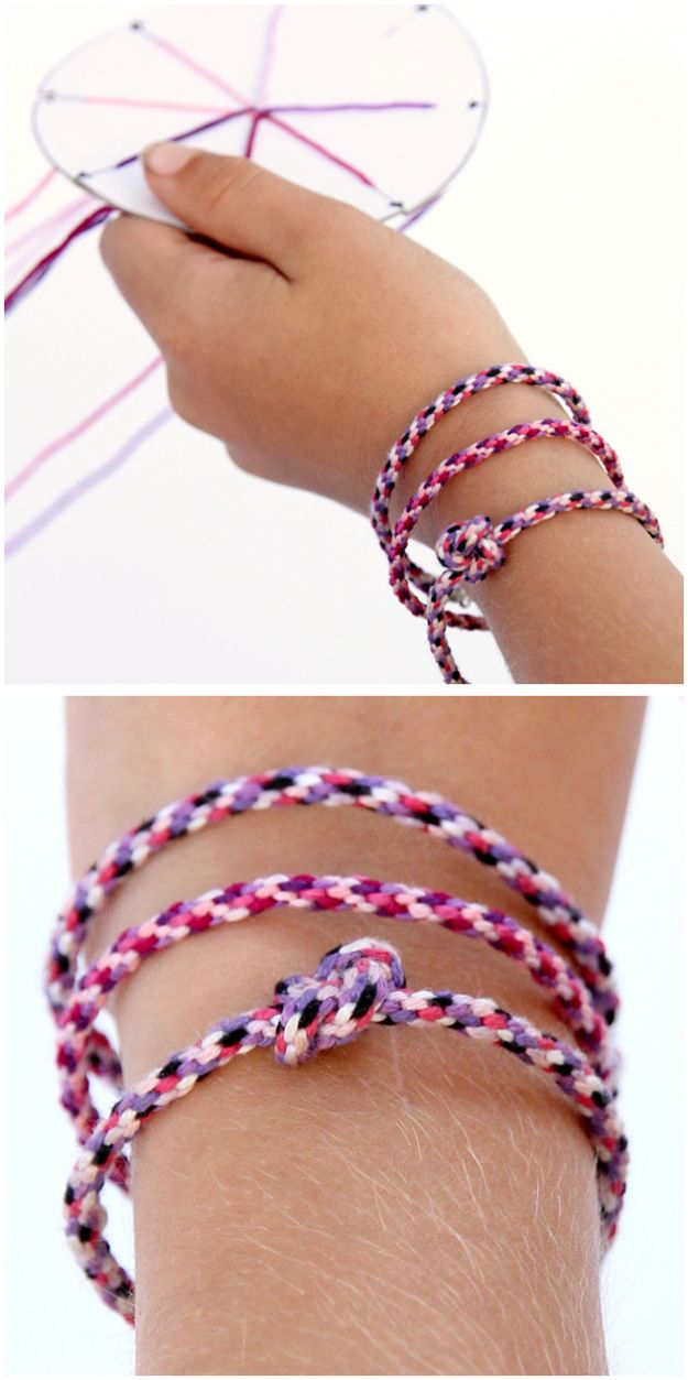 DIY Friendship Bracelets - Jellyfish Friendship Bracelets - Woven, Beaded, Leather and String - Cheap Embroidery Thread Ideas - DIY gifts for Teens