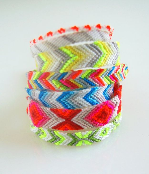 15 DIY Summer Style Friendship Bracelets (Part 1)
