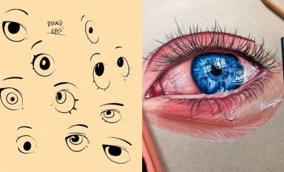 Eye Drawing Tutorials - Eays Ways to Learn How to Draw Eyes - How To Draw A Realistic Eye - Shading Eyes, Coloring Techniques and Step by Step Tutorials for Eye Drawings