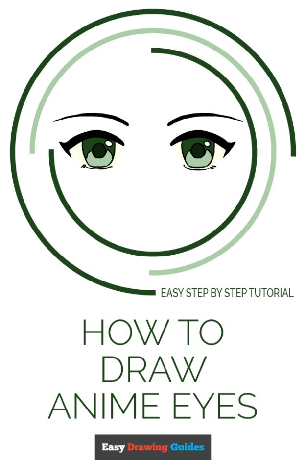 Eye Drawing Tutorials - Draw Anime Eyes - Eays Ways to Learn How to Draw Eyes - How To Draw A Realistic Eye - Shading Eyes, Coloring Techniques and Step by Step Tutorials for Eye Drawings