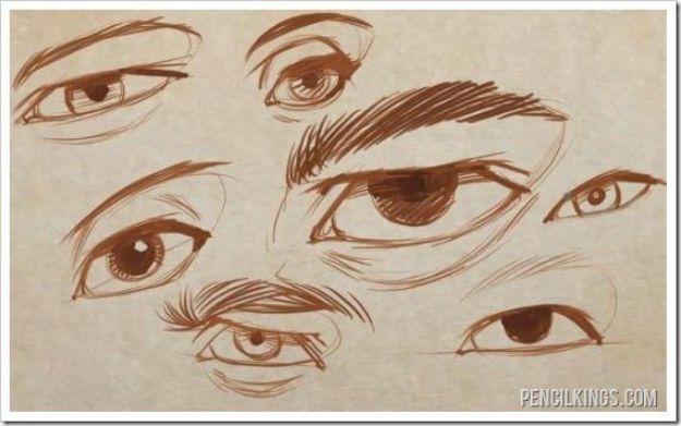 Draw Basic Eye Shape