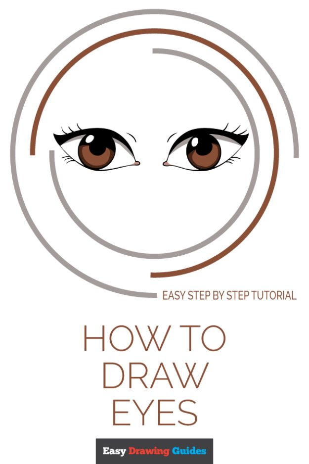Eye Drawing Tutorials - Draw Eyes – Really Easy Drawing Tutorial - Eays Ways to Learn How to Draw Eyes - How To Draw A Realistic Eye - Shading Eyes, Coloring Techniques and Step by Step Tutorials for Eye Drawings