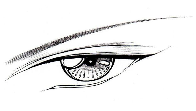 Eye Drawing Tutorials - Draw Male Eyes - Eays Ways to Learn How to Draw Eyes - How To Draw A Realistic Eye - Shading Eyes, Coloring Techniques and Step by Step Tutorials for Eye Drawings