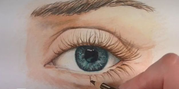 How to Draw a Realistic Eye with Colored Pencils - Prismacolor Drawing Tutorial Step by Step Art Lessons