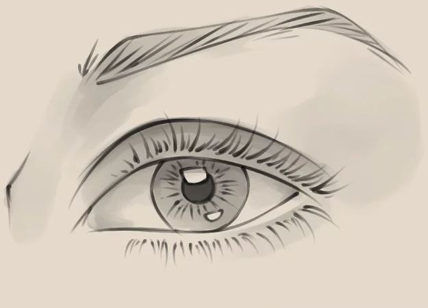 Eye Drawing Tutorials - Draw a Realistic Female Eye - Eays Ways to Learn How to Draw Eyes - How To Draw A Realistic Eye - Shading Eyes, Coloring Techniques and Step by Step Tutorials for Eye Drawings