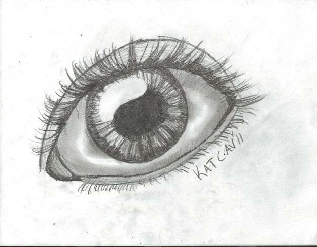 Eye Drawing Tutorials - Draw a Simple Eye - Eays Ways to Learn How to Draw Eyes - How To Draw A Realistic Eye - Shading Eyes, Coloring Techniques and Step by Step Tutorials for Eye Drawings