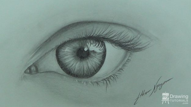 How to Draw an Eye - Easy Way to Draw Eyes - Free Drawing Lessons Step by Step