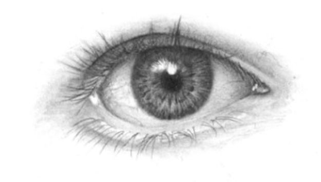 Eye Drawing Tutorials - Drawing the Human Eye - Eays Ways to Learn How to Draw Eyes - How To Draw A Realistic Eye - Shading Eyes, Coloring Techniques and Step by Step Tutorials for Eye Drawings