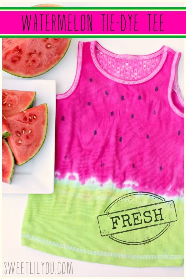 15 Sweet and Summery Watermelon DIY Projects (Part 1)
