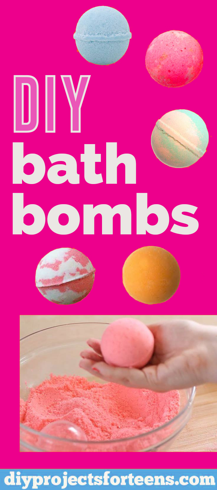 How To Make DIY Lush Bath Bombs