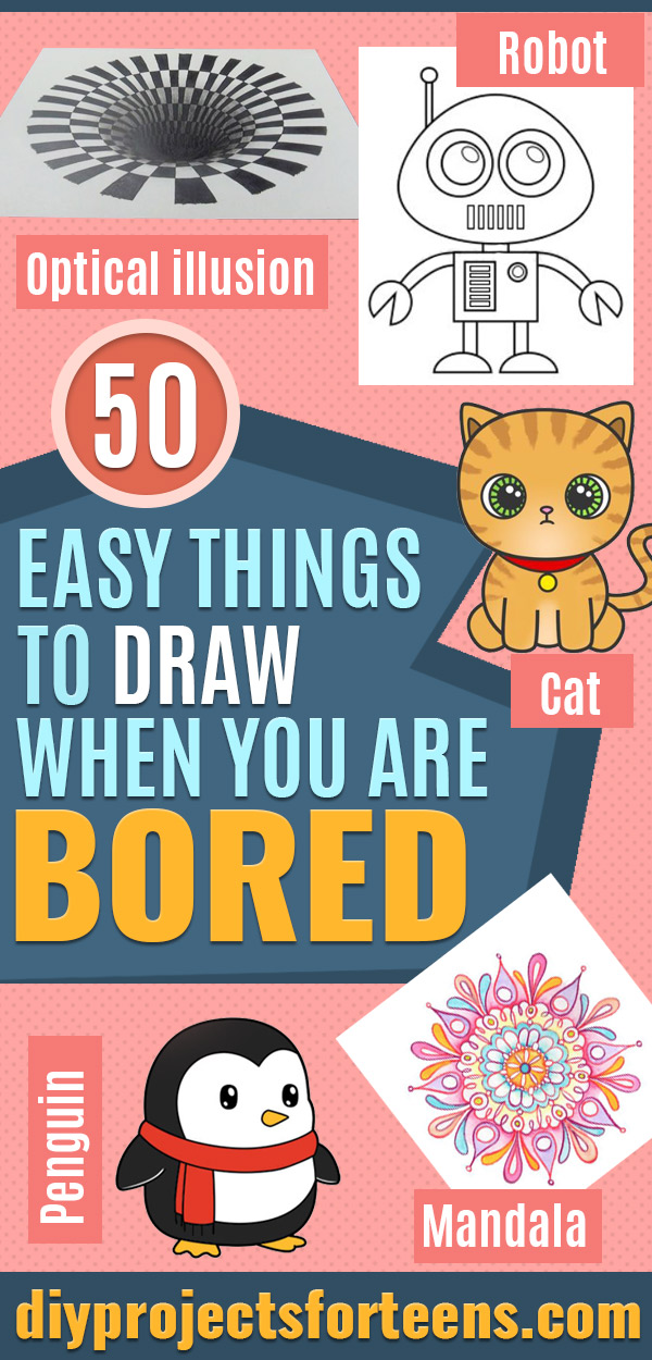 50 Easy Things To Draw When You Are Bored Wcases