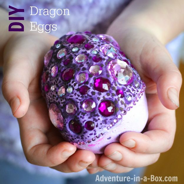 Easy Crafts for Teen Girls | Make Fantasy Dragon Eggs l Fun Craft and DIY Ideas for Teenagers and Tween Girl | Room Decor and Gifts