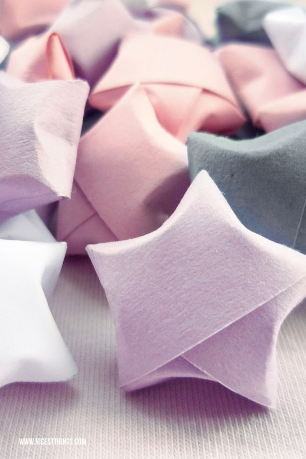 Easy Crafts for Teen Girls | Origami Stars l Fun Craft and DIY Ideas for Teenagers and Tween Girl | Room Decor and Gifts