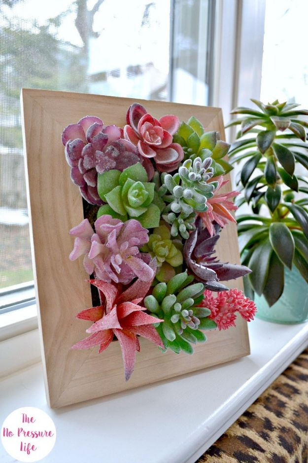 Easy Crafts for Teen Girls | Pretty DIY Fake Succulent Art l Fun Craft and DIY Ideas for Teenagers and Tween Girl | Room Decor and Gifts