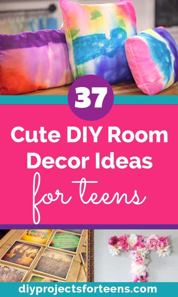 Teen Crafts and DIY Room Decor Ideas for Teens - Creative and Cheap Decorating Ideas for Teen Bedrooms