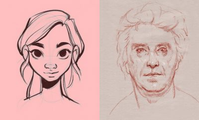 How to Draw Faces - Easy Drawing Tutorials and Ideas for Beginners - Learn How to Draw a Face With Free Lessons - Eyes, Lips, Mouth, Caricatures